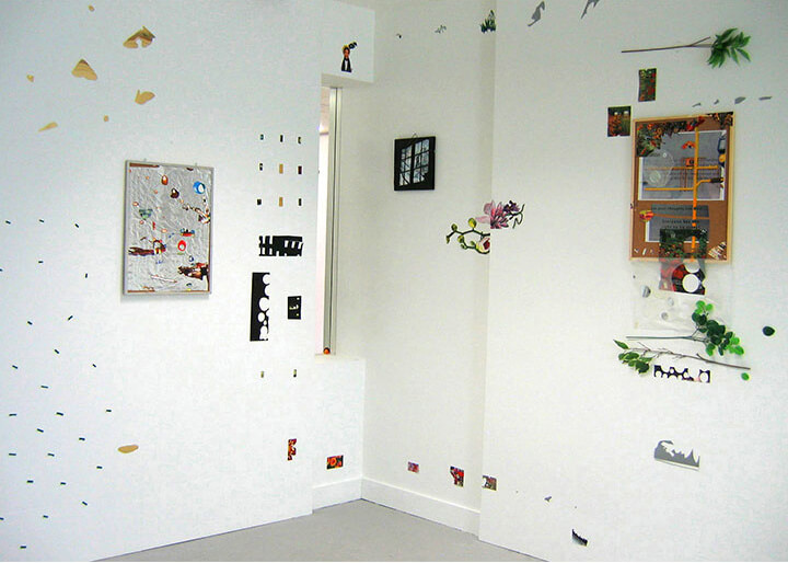 The Distant Locations, Installation View, 2005